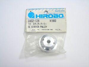 0402-128 Hirobo Rc Helicopter Se Metal Poulie De Démarrage Neuf En Paquet