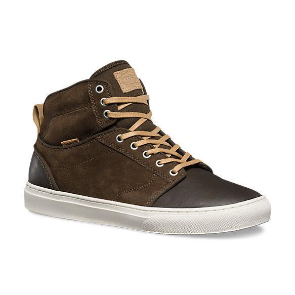 Brand New VANS Mens Alomar Leather/Nubuck Wren/Marsh  SZ US M 7.5 US W 9