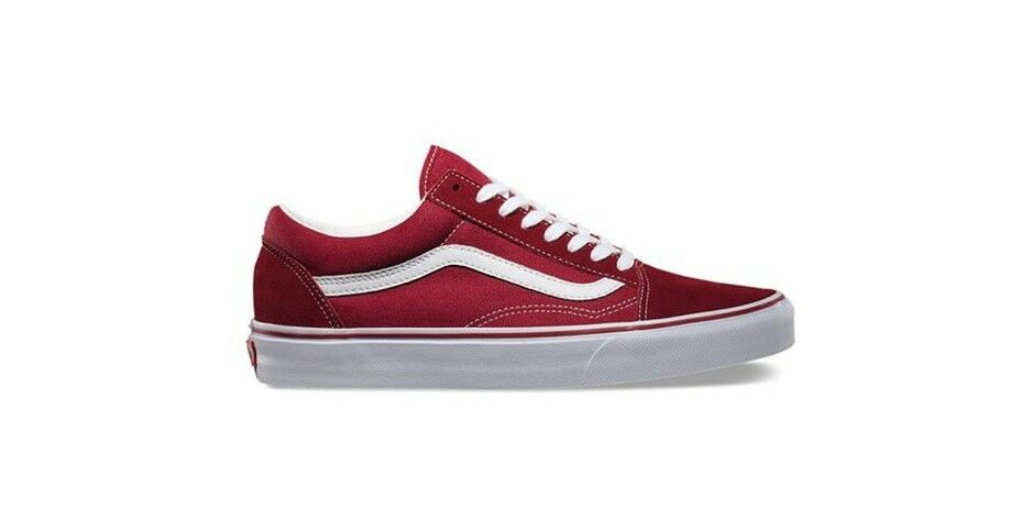 VANS Old Skool RED STYLE SHOES  VN-0VOKDIC VINTAGE
