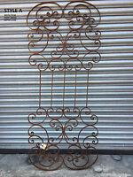 Metal Garden Trellis Wall Art Ideal As Home Or Garden Wall Art Rusty Finish