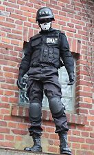 NEUE authentische SWAT Uniform Spezial-Einsatzkräfte Kostüm Polizei