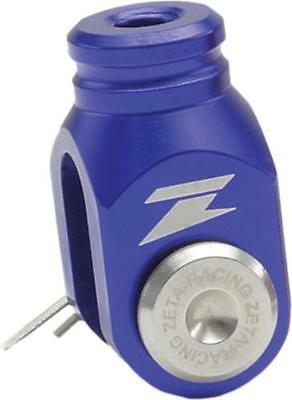 Zeta Blue Aluminum Rear Brake Clevis for Suzuki DRZ400 S SM E ZE89-5114