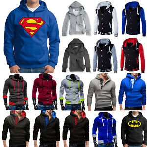 Mens-Hoodie-Sweatshirt-Hooded-Pullover-Jumper-Winter-Coat-Jacket-Sweater-Outwear