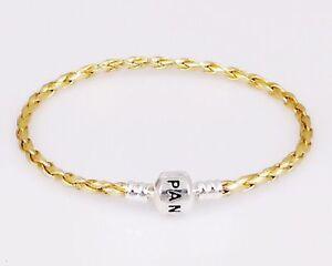 Fashion-Leather-Bracelets-Chain-Bangle-Fit-925-European-Charms-Beads
