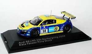 01:43 Audi R8 Lms 24h Nürburgring 2009 Phoenix Bilstein Pièce Biela Pirro Fahmy