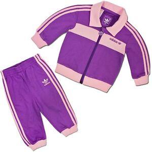 9b6ae1acfd9c50 Caricamento dell'immagine in corso Adidas-Originals-Beckenbauer-Tuta-da -Bambino-Set-Baby-