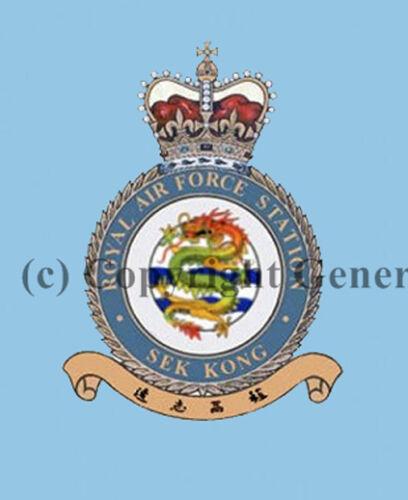 ROYAL AIR FORCE SEK KONG  COASTER
