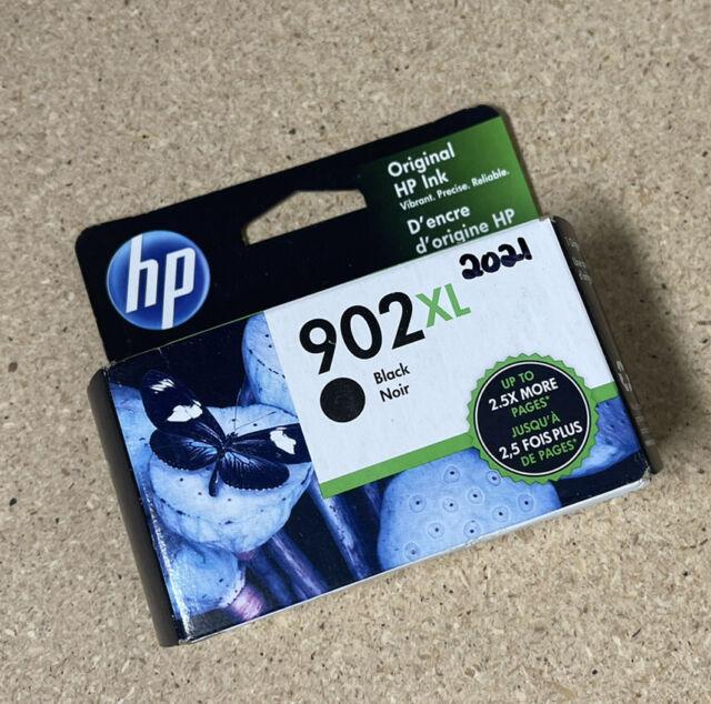 NEW Genuine OEM HP 902XL 902 Black Ink Cartridge T6M14AN High Yield Exp 2021