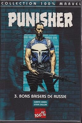 100% Marvel Punisher Vol 3 Bons Baisers De Russie