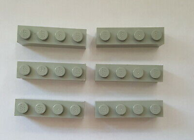 Lego Baustein 3010 Basic Stein 1x4 Grundbaustein 6 Stück Orange 55