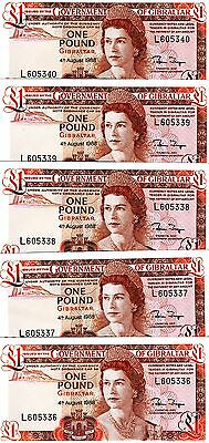 LOT P-20 20e QEII 10 x 1 pound UNC /> The last 1988 Gibraltar