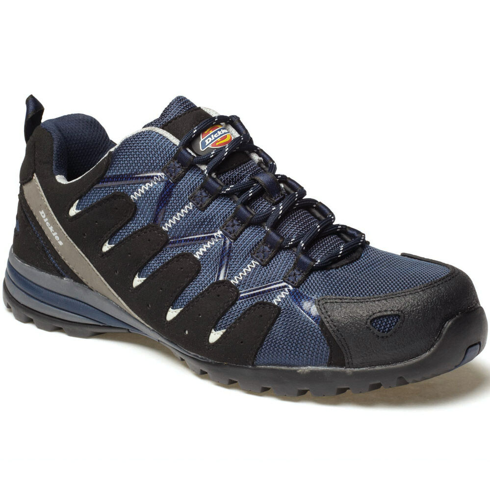 DICKIES Schuhe TIBER NAVY SAFETY TRAINERS Schuhe DICKIES SIZE UK 7 EU 41 FC23530 COMPOSITE 49f15b