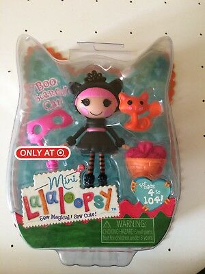 Lalaloopsy Mini Boo Scaredy Cat Target Exclusive Halloween 2014 Fall Doll /& Pet