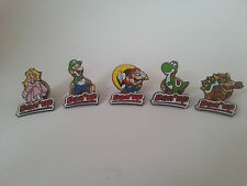 Official Super Mario World Complete Pin Set (Nintendo, Danone, 1993) Dan'up