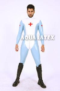 Male latex cat suit