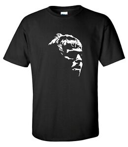 Liam Gallagher Face Oasis Indie Rock Music T-Shirt