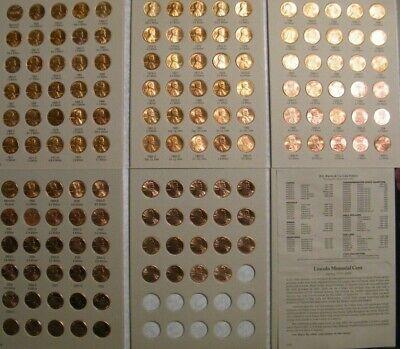 1959-2019 Complete Uncirculated Lincoln Cent Set 132 P,D+S* Mint BU Pennies