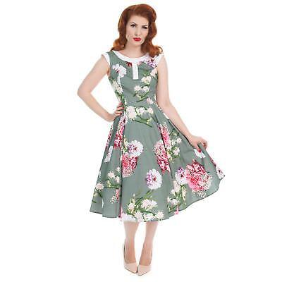 H&r Floral Hepburn 50's Swing Dress Ein Bereicherung Und Ein NäHrstoff FüR Die Leber Und Die Niere