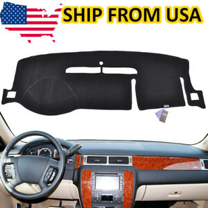 Details About Us Car Dashboard Pad Dash Cover Mat For 2007 2017 Chevy Silverado Tahoe Suburban