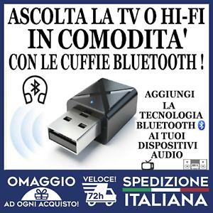 Trasmettitore Bluetooth e Ricevitore per Smart TV e HIFI AUX A2DP/AVRCP 🇮🇹