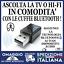 miniatura 1 - Trasmettitore Bluetooth e Ricevitore per Smart TV e HIFI AUX A2DP/AVRCP 🇮🇹