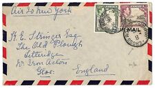 U108 1944 Jamaica *CROSS ROADS* GB Gloucstr BWI Super Cover {samwells-covers}PTS
