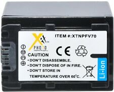NP-FV70 Battery for Sony HDR-CX740 CX760 CX900 HC9 PJ10 PJ200 PJ230 PJ260 PJ26V