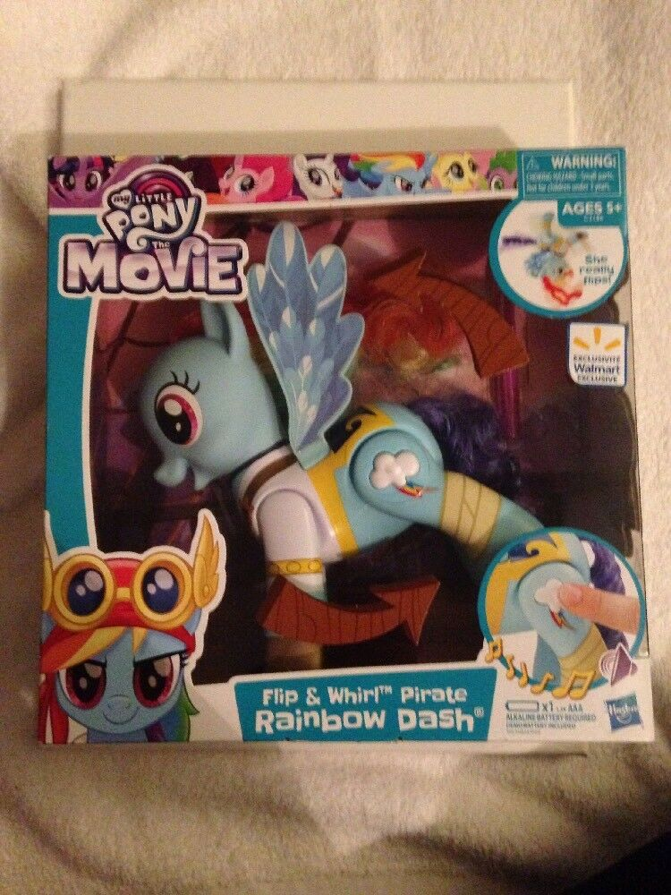 My Little Pony Flip And Whirl Pirate Rainbow Dash -Walmart Exclusive