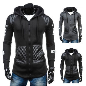 Men-Slim-Fit-Athletic-Gym-Muscle-Hoodies-T-shirt-Tops-Hooded-Zipper-Coat-Outwear