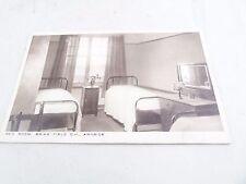 VINTAGE BED ROOM BRIAR FIELD C.H ARNSIDE  POSTCARD