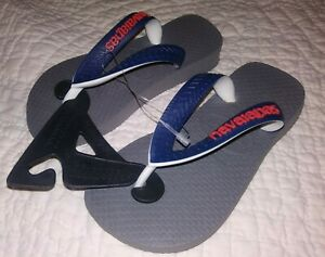 1a3545e3e NWT Havaianas Navy Blue Flip Flops Sandals Boys Girls Toddler 23 ...