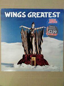 Wings-Wings-Greatest-Parlophone-PCTC-256-Vinyl-LP-Compilation-EX-EX