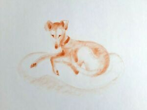 Janina-Ede-Original-Artwork-A3-Dog-for-Golden-Retriever-Rescue-Charity-Sale