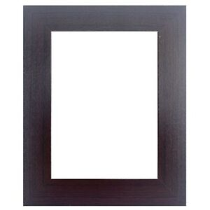 """US Art Frames 1.5/"""" Flat Cherry Maroon Picture Poster Frame Wood Composite S-B"""