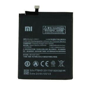 Original-BN31-3000-3080mAh-Battery-For-Xiaomi-5X-Mi-5X-MI5X-Phone-Warranty