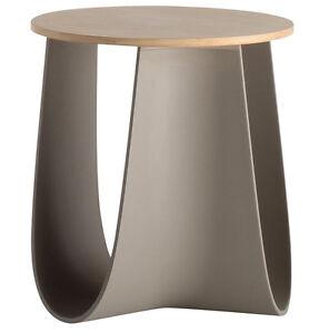 Coffee table / Stool Mdf Italia Sag mud/bamboo design Nendo OUTLET ...