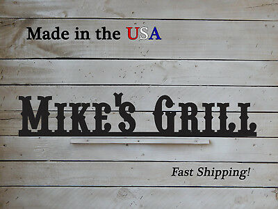 Restaurant Sign Grill Sign Business Decor Man Cave W1134 Personalized