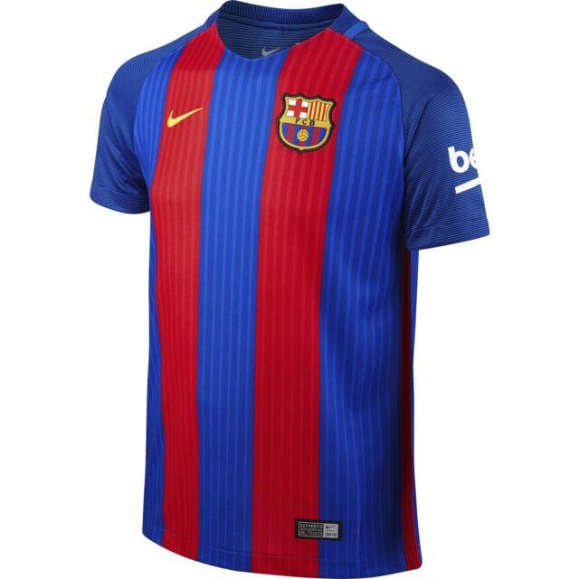 Nike Boys Barcelona Home 2016 Stadium Quality soccer jersey  size Kids xLarge