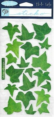 LEAVES Ivy Climbing Leaf Green Nature College Spring Summer Sticko stickers