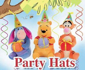 Winnie The Pooh Pluschtier Disney Qualitat 30 Cm Party Hut Geschenk
