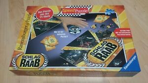 Spiel-Schlag-den-Raab-Speed-Puzzle-Ravensburger-Neuwertig-Action-Pur