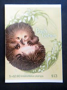 Australian-Stamps-2013-Bush-Babies-Booklet-Echidna