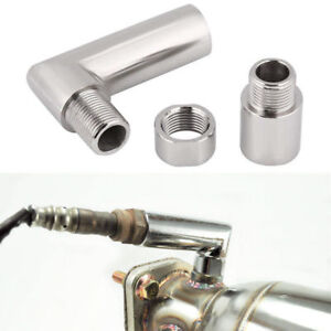 M18 X 1.5 O2 Oxygen Sensor Spacer Expander 90 Degree 02 Bung Exhaust Extension