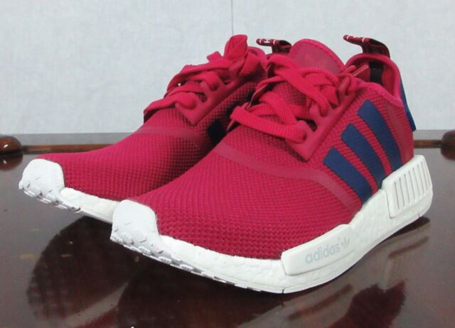 adidas NMD R1 J Pink Purple S80205 Size 6 Youth US 7.5 Womens