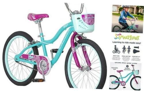 Schwinn Elm Girls Bike for Toddlers and Kids 12-Inch