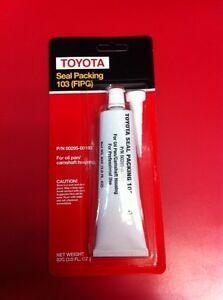 Genuine Toyota Factory Sealant 00295-00103 SET OF 8 For rebuilding oilpan/Engine