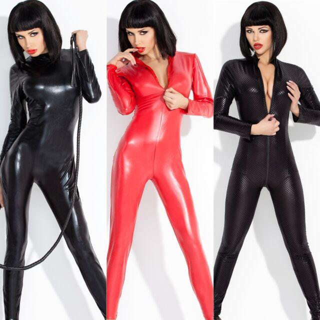* AmazingGirl * 3 DOMINA CATSUIT BAD CATWOMEN VINYL ala LACK LATEX LEDER FETISCH