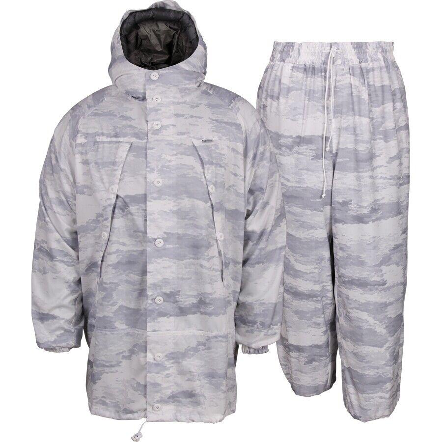 Tactisch pak Camoufleed Winter wit Moss Russische militaire velduitrusting