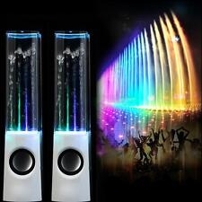 LED Light Music Dancing Water Speakers Music Fountain for Phone Valentine's Day