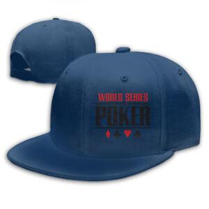 World-Series-of-Poker-Logo-Snapback-Baseball-Hat-Adjustable-Cap